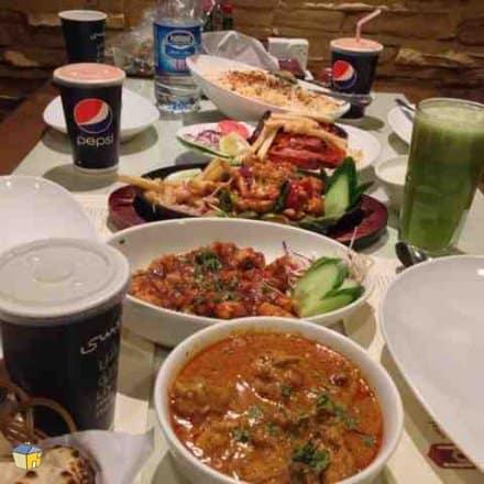 مطعم الهناء للبخاري المدينة