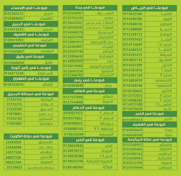 حلويات سعد الدين ينبع الاسعار المنيو الموقع كافيهات و مطاعم السعودية