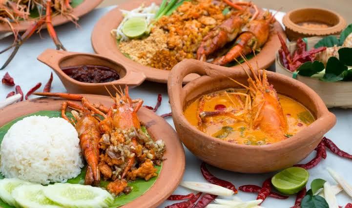 مطعم الماكولات البحرية التايلندية