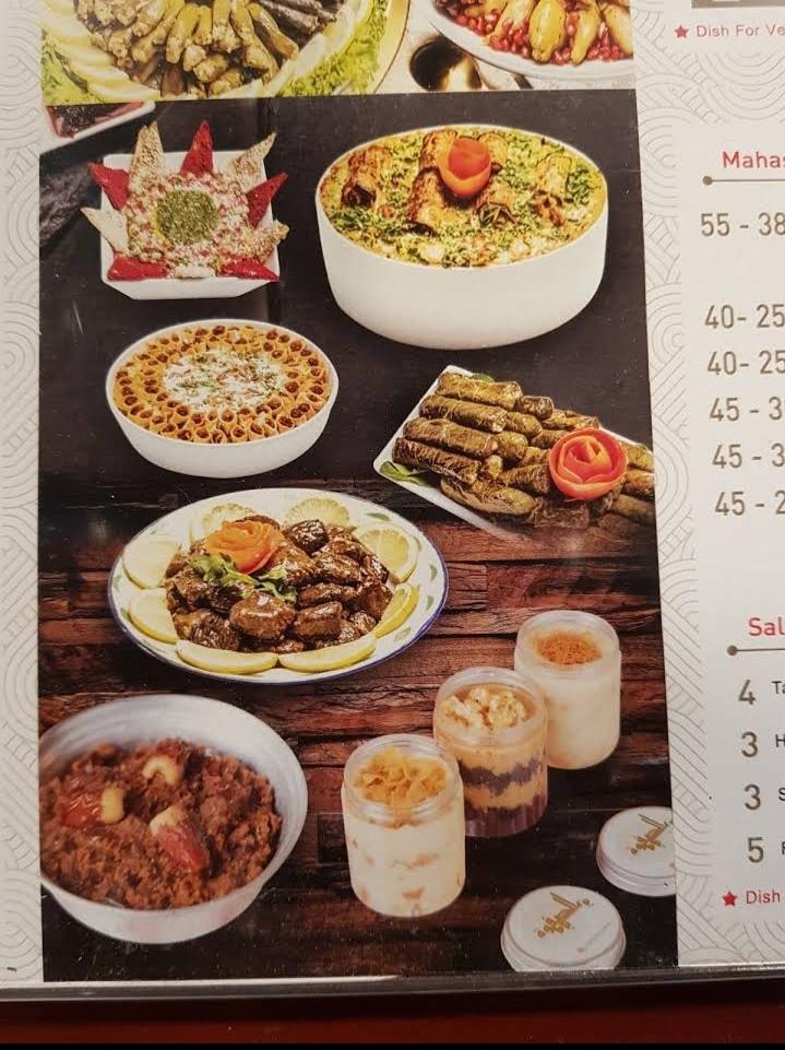Al Safwah Cuisine منيو