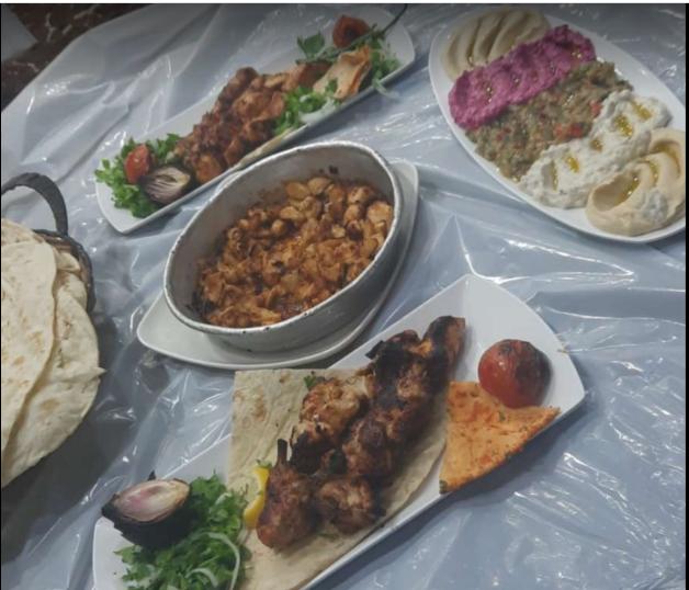 مطعم حدائق بابل
